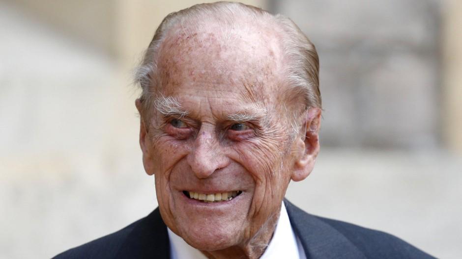 Prinz Philip, Herzog von Edinburgh, im Juli 2020 vor Schloss Windsor