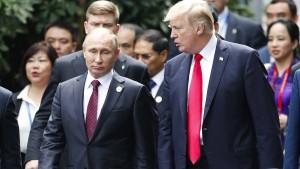 Trump und Putin sehen keine militärische Lösung für Syrien