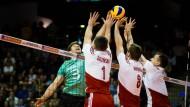 Volleyballer wollen zu Olympia