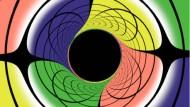 Ein rotierendes Schwarzes Loch als mathematisches Modell