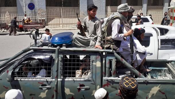 Die Schlinge um Kabul zieht sich zu