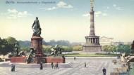 Postkarte 1915 Berlin Platz der Republik.