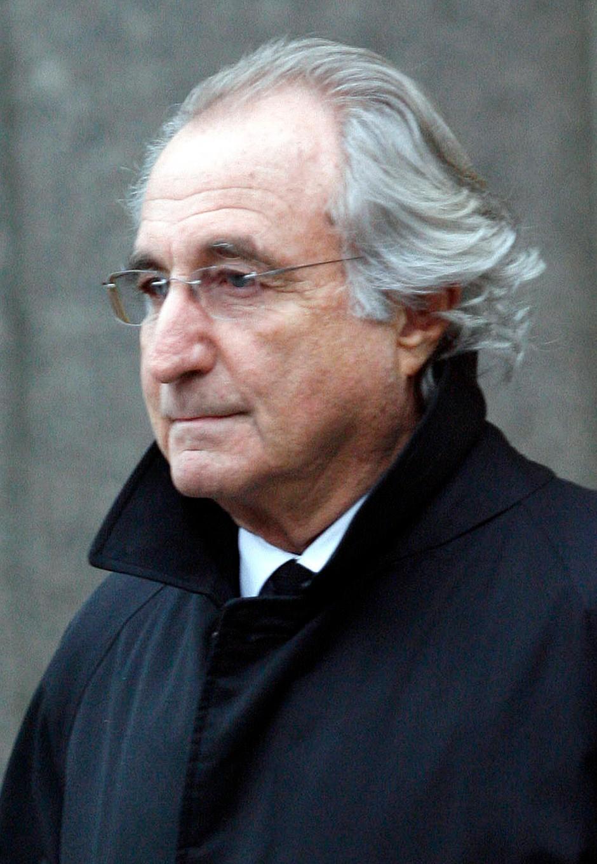 Bernard Madoff hatte über Jahrzehnte hinweg ein Schneeballsystem an der Wall Street betrieben