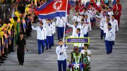 Nordkorea sagt Olympia-Teilnahme ab