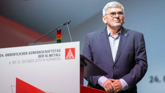 Jörg Hofmann bleibt IG Metall-Vorsitzender