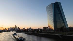 Die EZB will nur gut begründete Renditeanstiege tolerieren