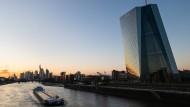 Die Europäische Zentralbank in Frankfurt am Main