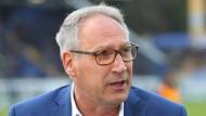 Realist: Präsident Rüdiger Fritsch blickt in die zweitklassige Zukunft.