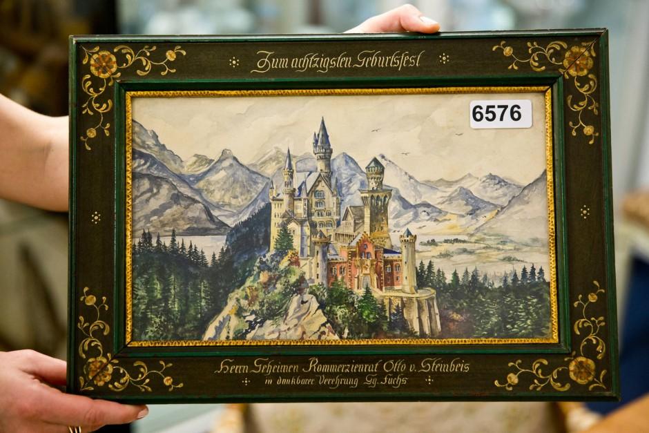 Angebliche Hitler-Kunst bringt 391.000 Euro bei Auktion