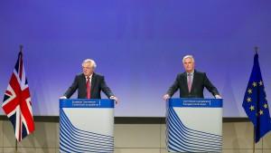 EU-Parlament kritisiert Londons Brexit-Angebot