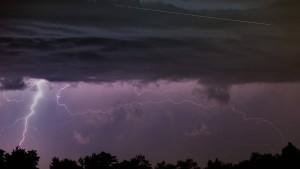 Sturm und Gewitter folgen auf  die Rekordhitze in Hessen