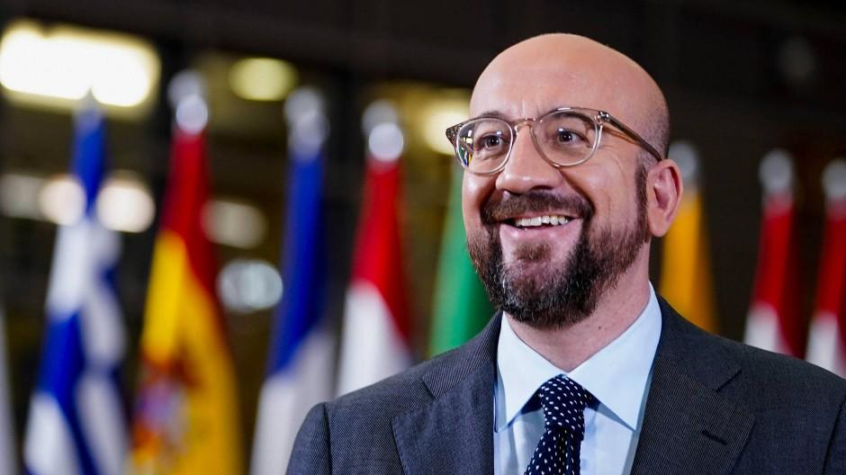 Beachtet moderne Vorhaben der EU nur wenig: Ratspräsident Charles Michel am 16. Februar in Brüssel