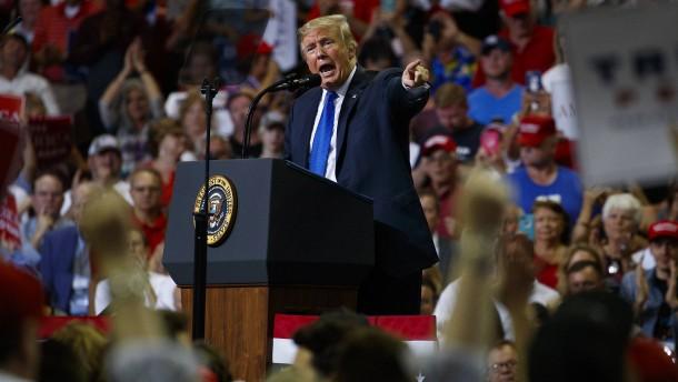 Der Präsident hat jede Zurückhaltung verloren
