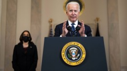 """Biden äußert sich """"erleichtert"""" über den Schuldspruch im Floyd-Prozess"""