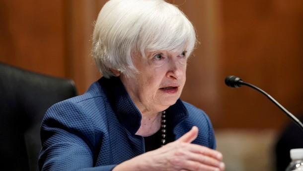 Amerikas Finanzministerin warnt vor Finanzkrise