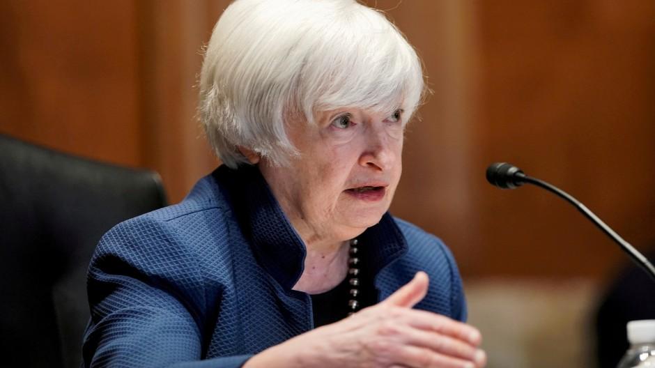 Amerikas Finanzministerin Janet Yellen sorgt sich um den Staatshaushalt.