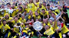 Mannschaft des Jahres: Der deutsche Fußballmeister Borussia Dortmund