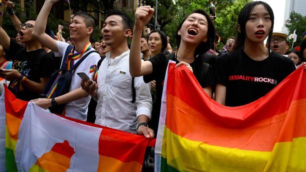 Taiwan führt gleichgeschlechtliche Ehe ein
