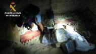 Bei Lloret de Mar grub die spanischen Polizei 120 Kilogramm Kokain aus, die offenbar für den britischen Markt bestimmt waren.
