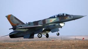 Israelischer Kampfjet in Syrien beschossen