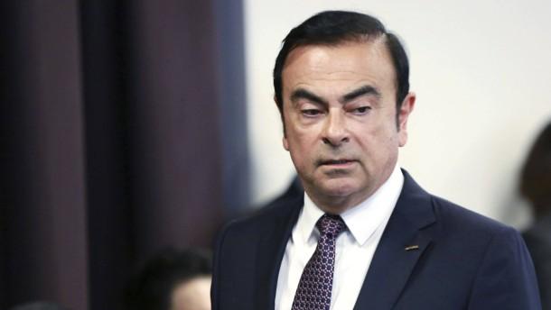 Nissan-Aktionäre werfen Ghosn aus Verwaltungsrat