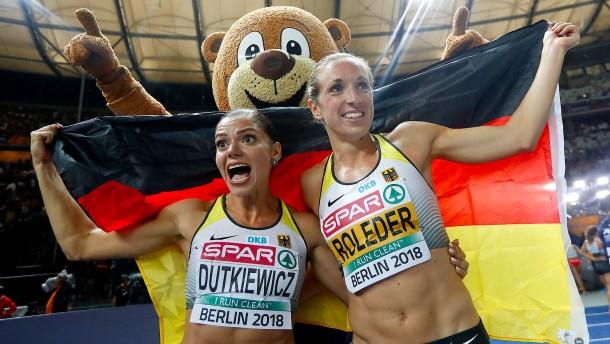 Silber und Bronze für Dutkiewicz und Roleder