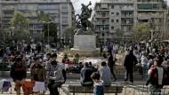 Das besetzte Flüchtlingshotel in Griechenland