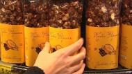 Gourmet-Popcorn mit Chili und Cheddar