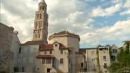 Die kroatische Hafenstadt Split