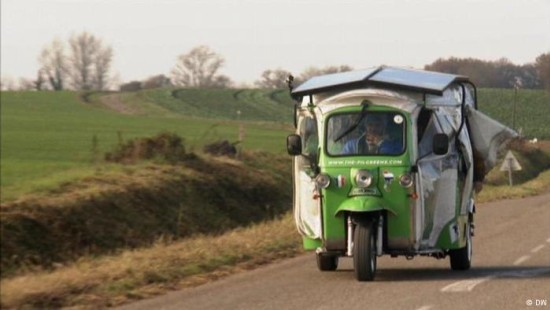 20.000 Kilometer mit der Elektro-Rikscha