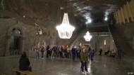 Die Salzmine Wieliczka