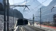 Rekordbauwerk Gotthard-Basistunnel