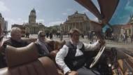Im Oldtimer-Cabrio durch Berlin