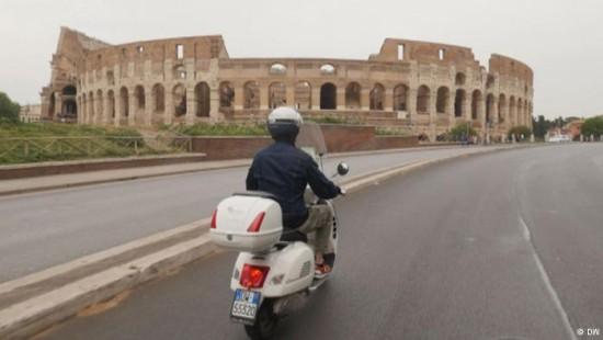 Mit der Vespa auf Sightseeing-Tour in Rom