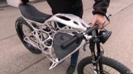 Das E-Motorrad aus dem 3D-Drucker