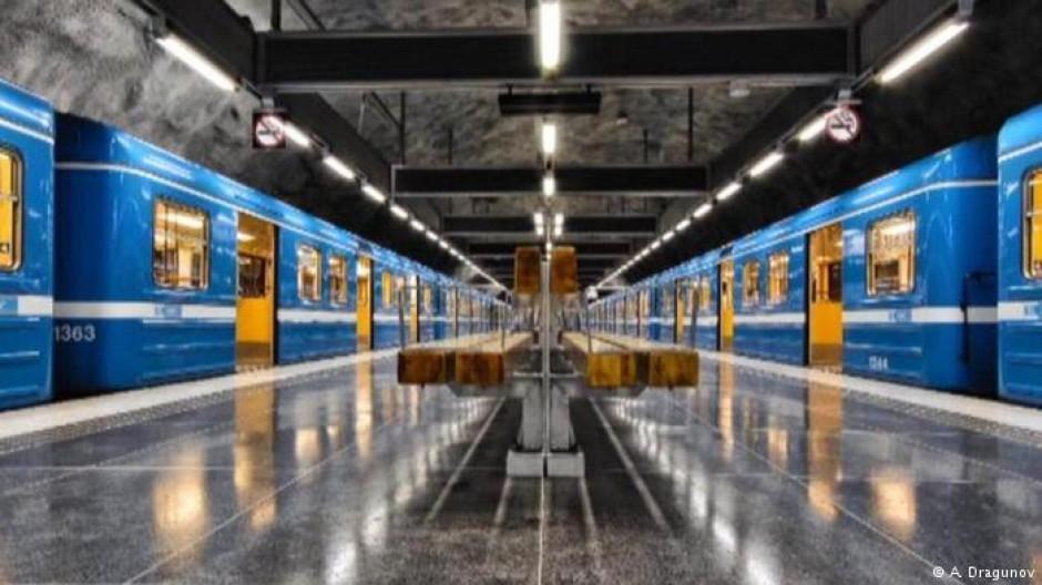 Der U-Bahnfotograf von Stockholm