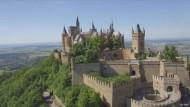 Die Burg Hohenzollern als Horrorfilm-Kulisse