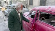 Oldtimer-Fan aus Aleppo trauert um seine Sammlung