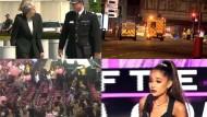 Anschlag auf Ariana Grande-Konzert schockt die Welt