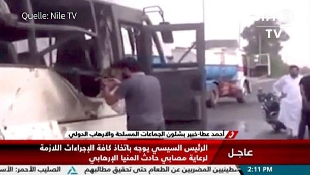 Viele Tote bei Angriff auf koptische Christen