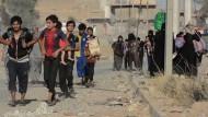 Der Kampf um Mossul - Menschen auf der Flucht