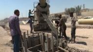 Menschen in Mossul träumen vom Wiederaufbau