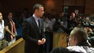 Pistorius plädiert im Mordprozess auf nicht schuldig