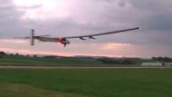 Jungfernflug für Solar Impulse 2