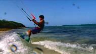 Ein Sonnenparadies für Kitesurfer