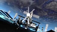 Wie die Astronauten im All versorgt werden