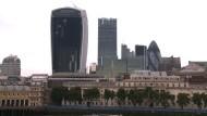 Londoner gespalten zu immer mehr Wolkenkratzern