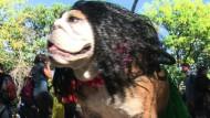 Auch Hunde gruseln sich zu Halloween