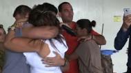 Kubanische Familien nach 13 Jahren wieder vereint