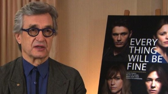 """Wim Wenders zu """"Every Thing Will Be Fine"""""""